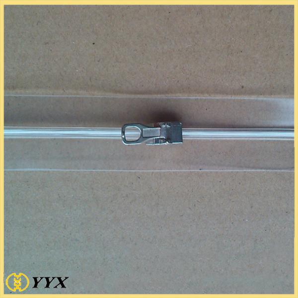 PVC flat Zipper
