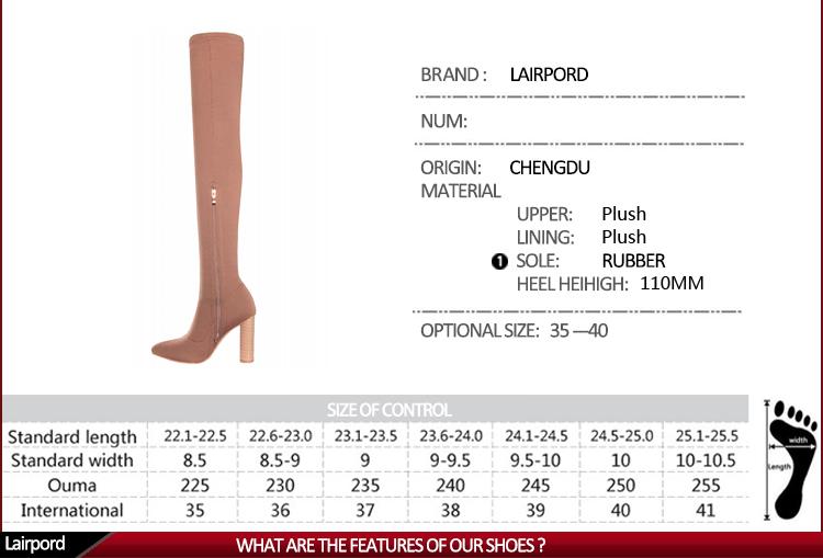 women over knee boots