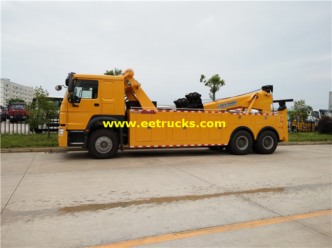 SHACMAN 25T 10 Wheel Telescopic Crane Trucks