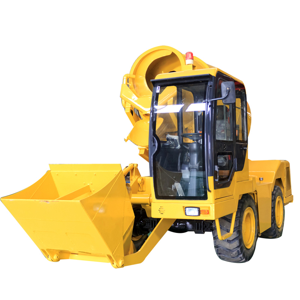 Self Concrete Mixer