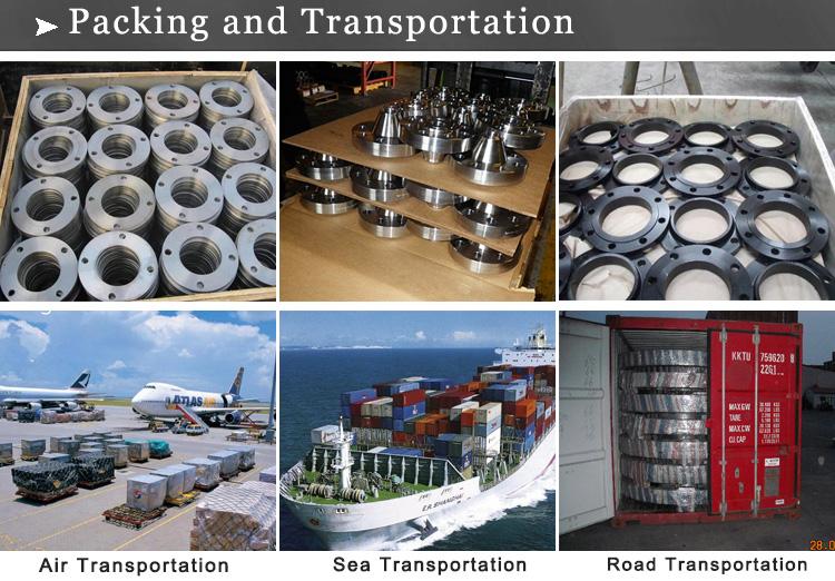 flange packing and transportation
