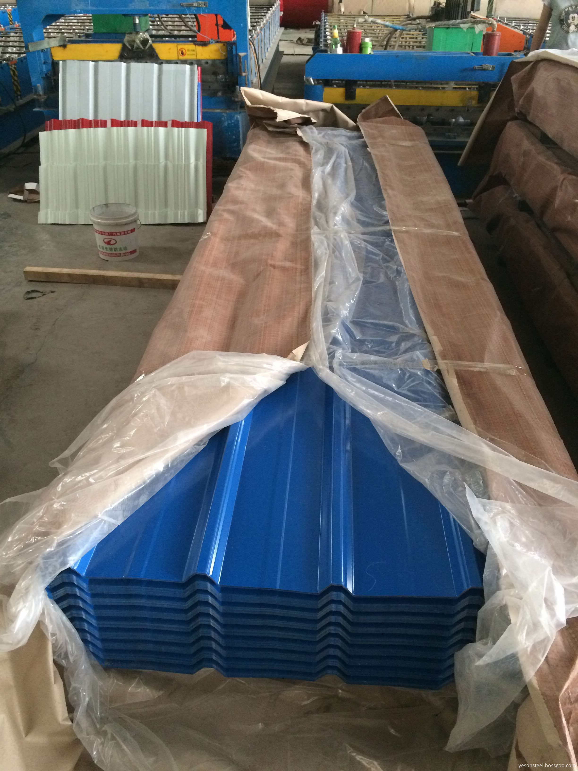 roofing plate