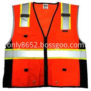 Colour fashionable reflective vest