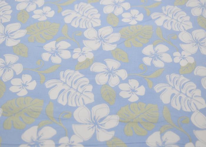 CVC Plain Printed Fabric