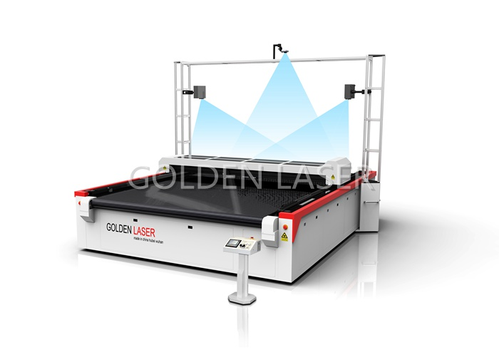 Flatbed Laser Cutting Machine with Projector