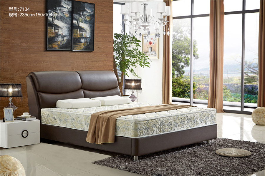 Leather Bed Deluxe