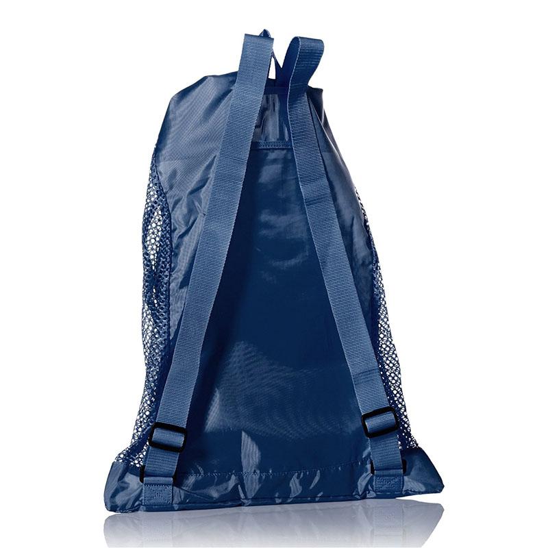 Blue Mesh Equipment Bag