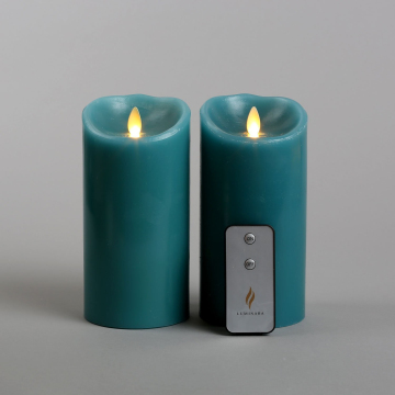 moving wick led candle with remote