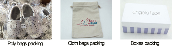 Baby Sandals and Slippers Packing Methods