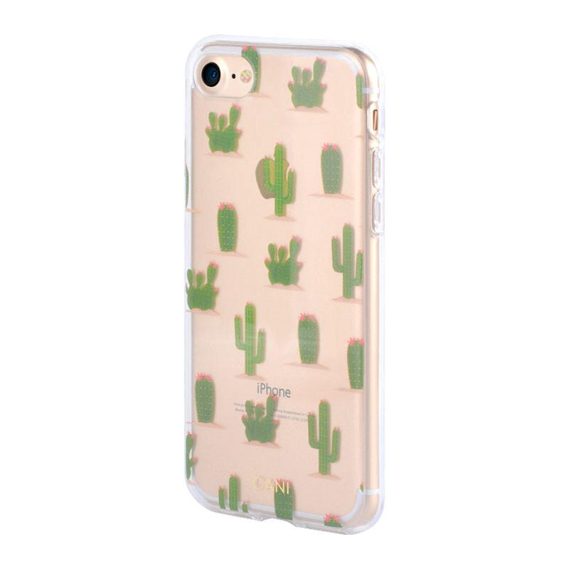 Transparent IML iPhone 7 Case with Cactus