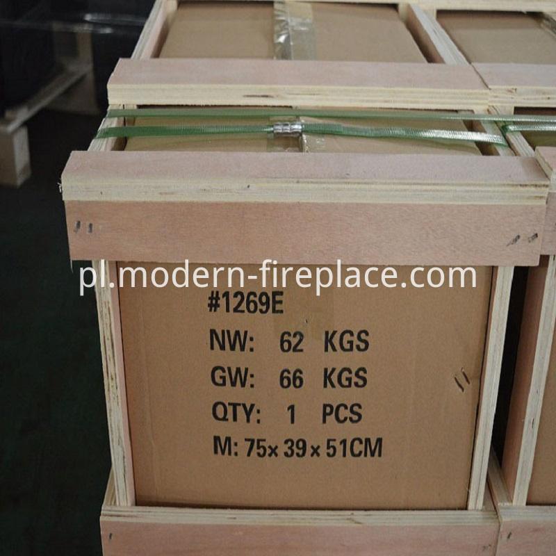 Wood Burning Indoor Fireplace Packaging