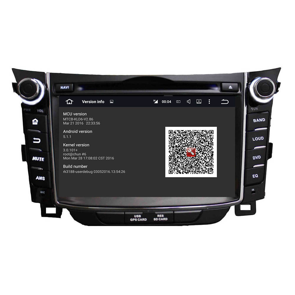 Android car DVD for Hyundai I30 2011-2014