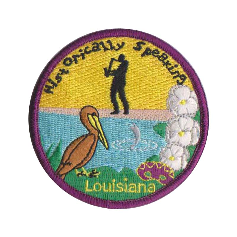 Louisiana Custom Patches