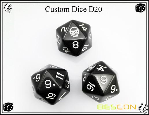 Custom Dice D20