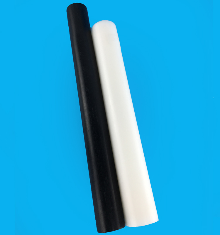 black and white pom rod
