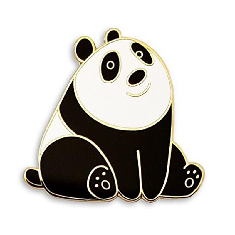 Panda Bear Enamel Lapel Pin