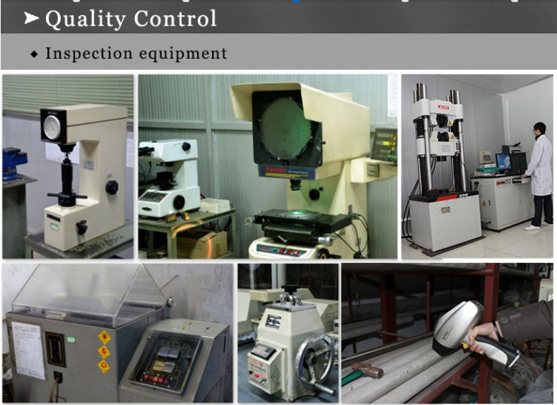 ss inspection equipment