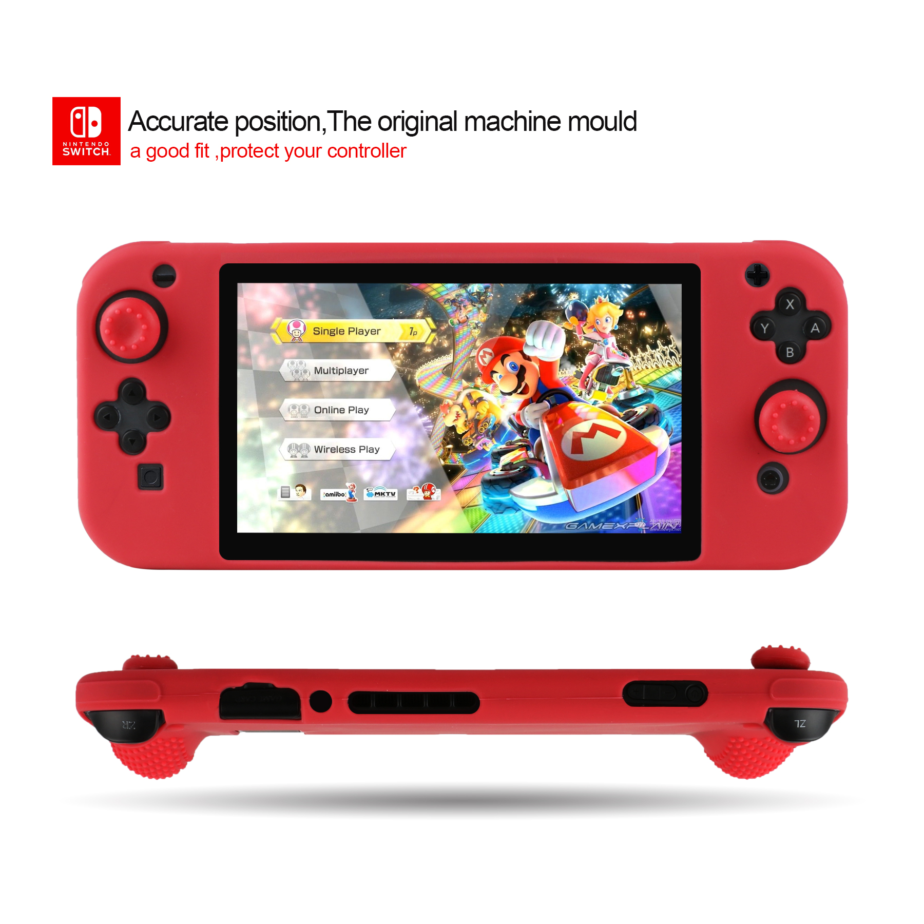 silicone case for switch console