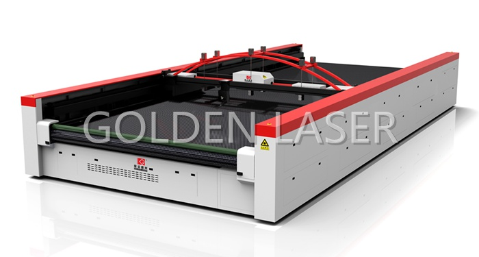 Flatbed Laser Cutter for Industrial Fabric