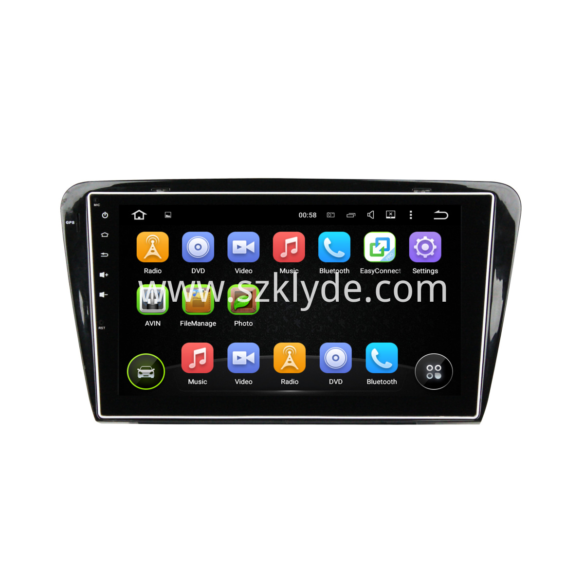 Octavia Android Car DVD