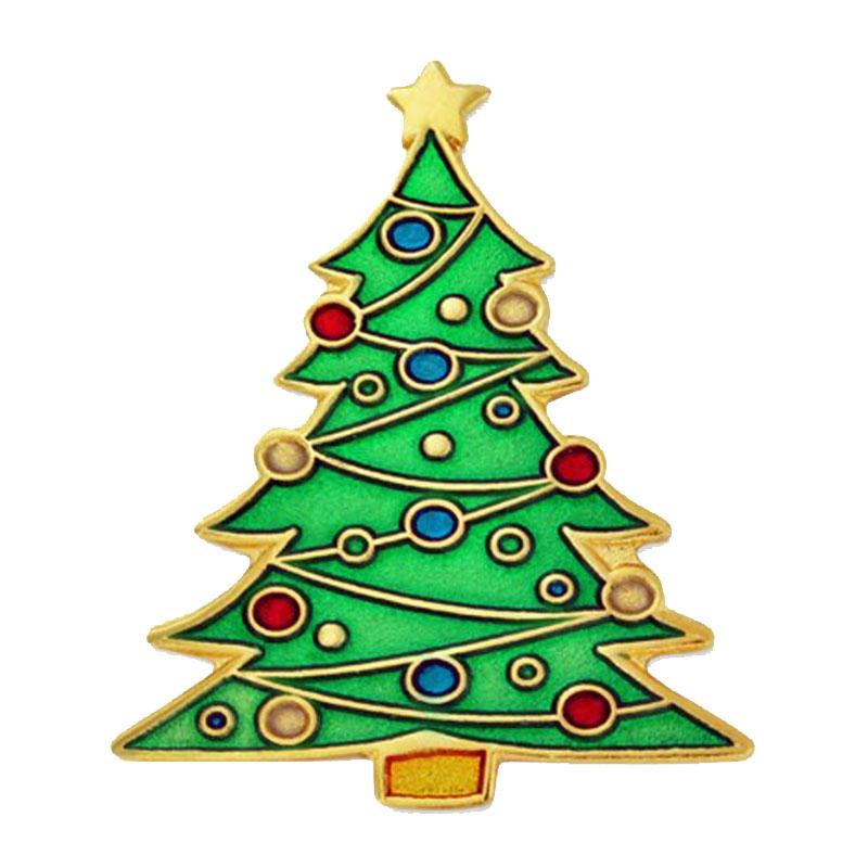 Christmas Tree Lapel Pin