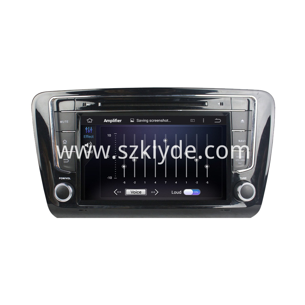 8 inch DVD player for Skoda OCTAVIA 2012