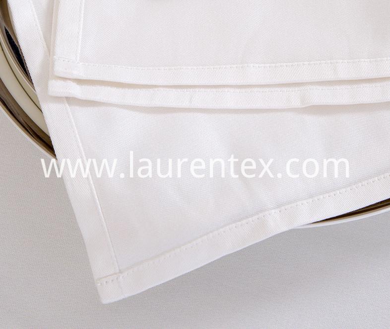 cotton white napkin