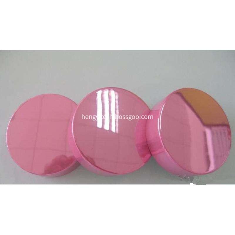 plastic plating cosmetic caps