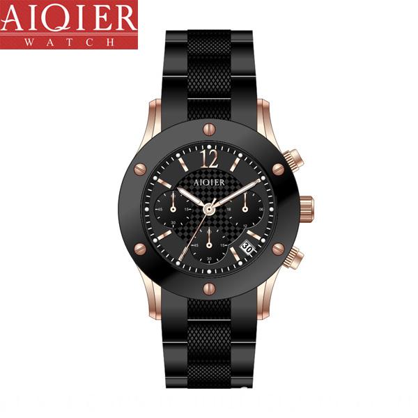 Black Sport Watch