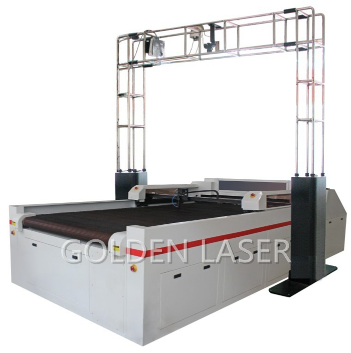 Laser Leather Cutting Machine with Projector