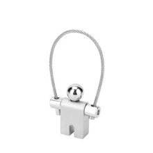 Stainless Steel Dancing Boy Key Chain