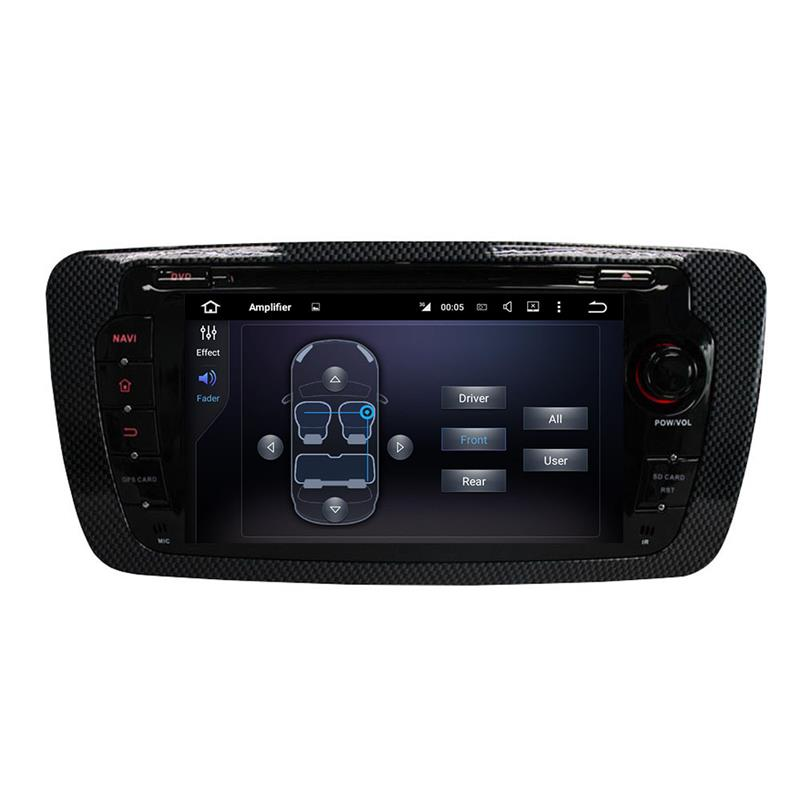 Seat car stereo
