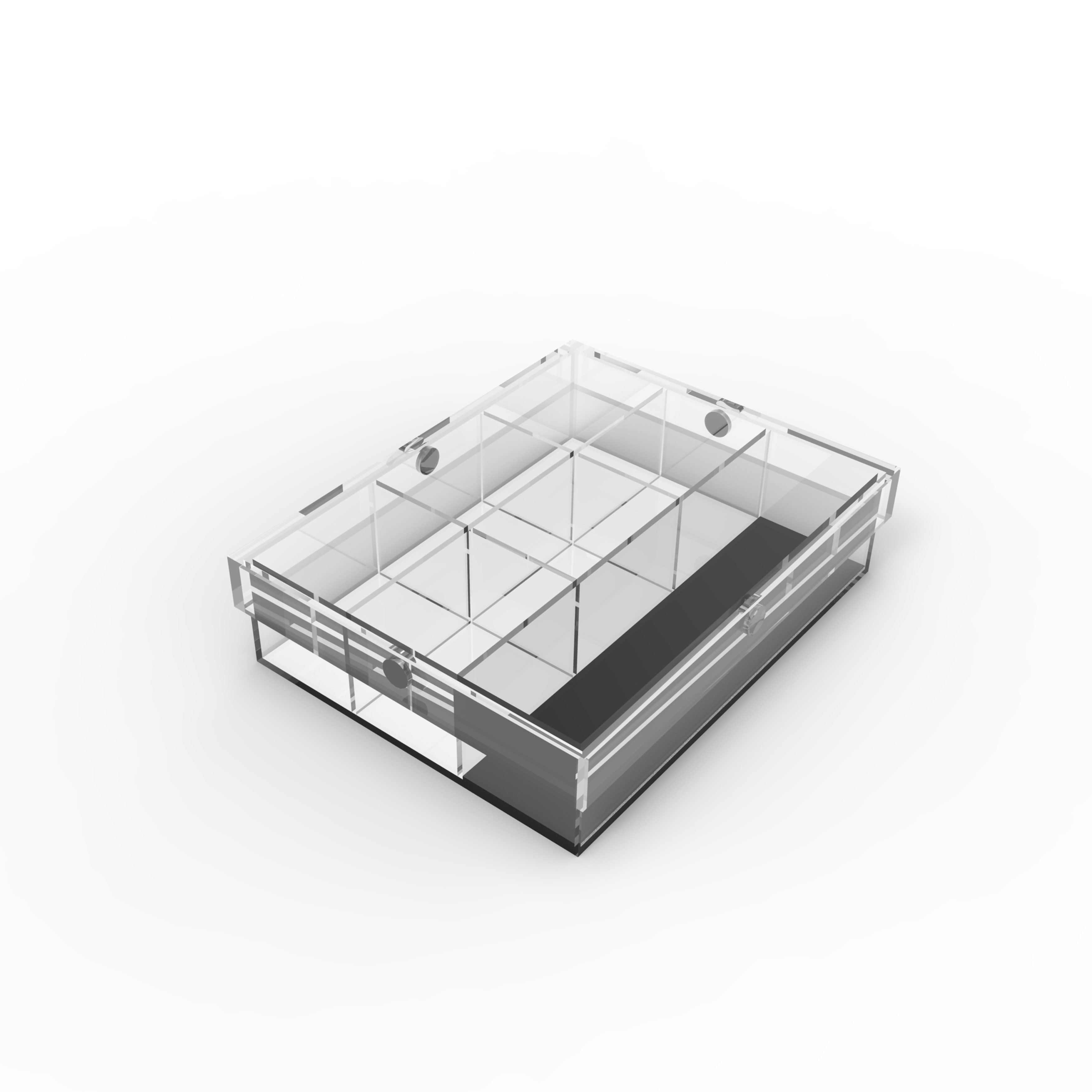 Top Quality Acrylic Box With Velvet