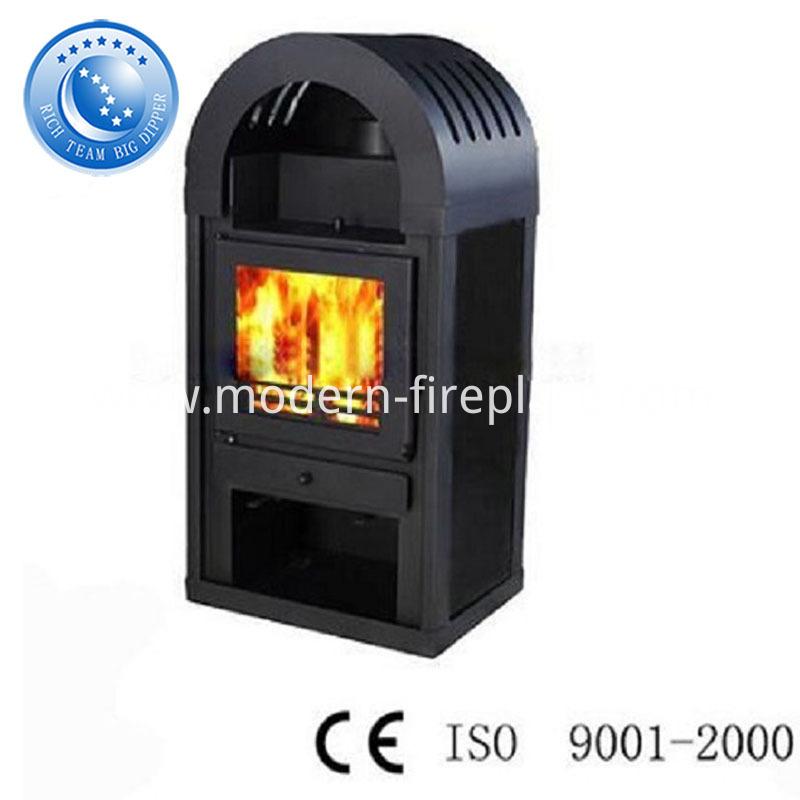 Modern Prefab Real Fire  Fireplace With Corner Ideas