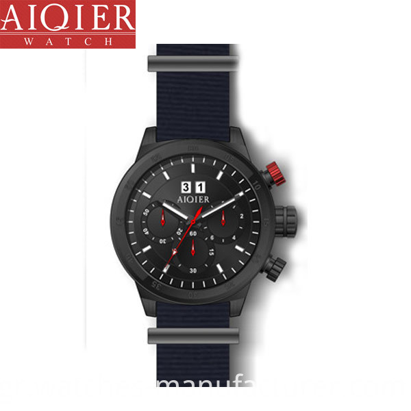 Men Black Plating Watches