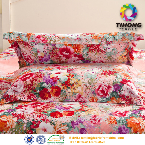 digital printed bedding fabric
