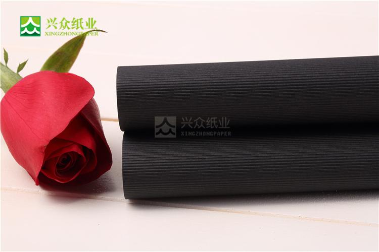 Black Embossing Paper