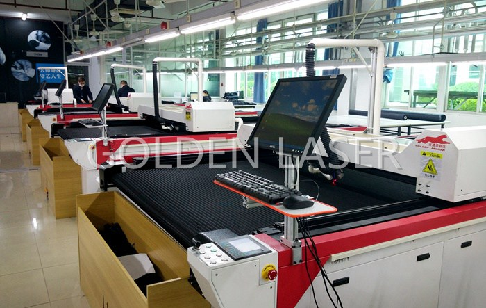 garment laser cutting machine factory