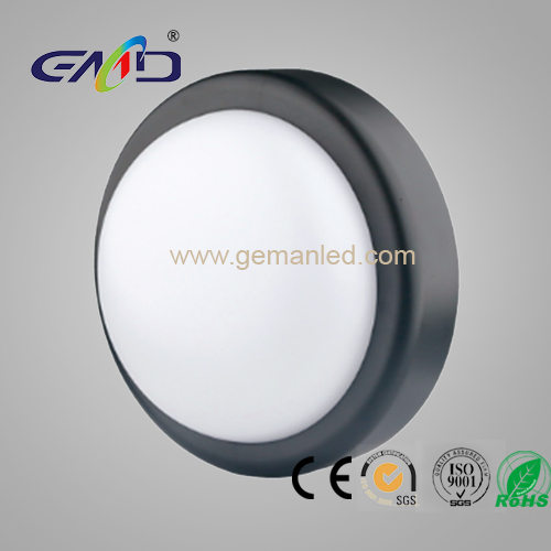led bulk head round-black