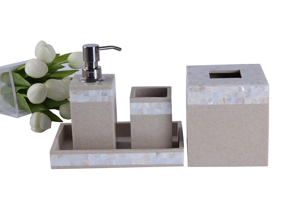 sandstone bathroom vanity set