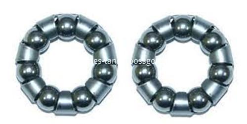 Ball and Ball Bearing Retainer