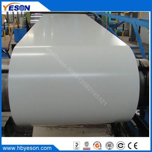 white color PPGI steel coil