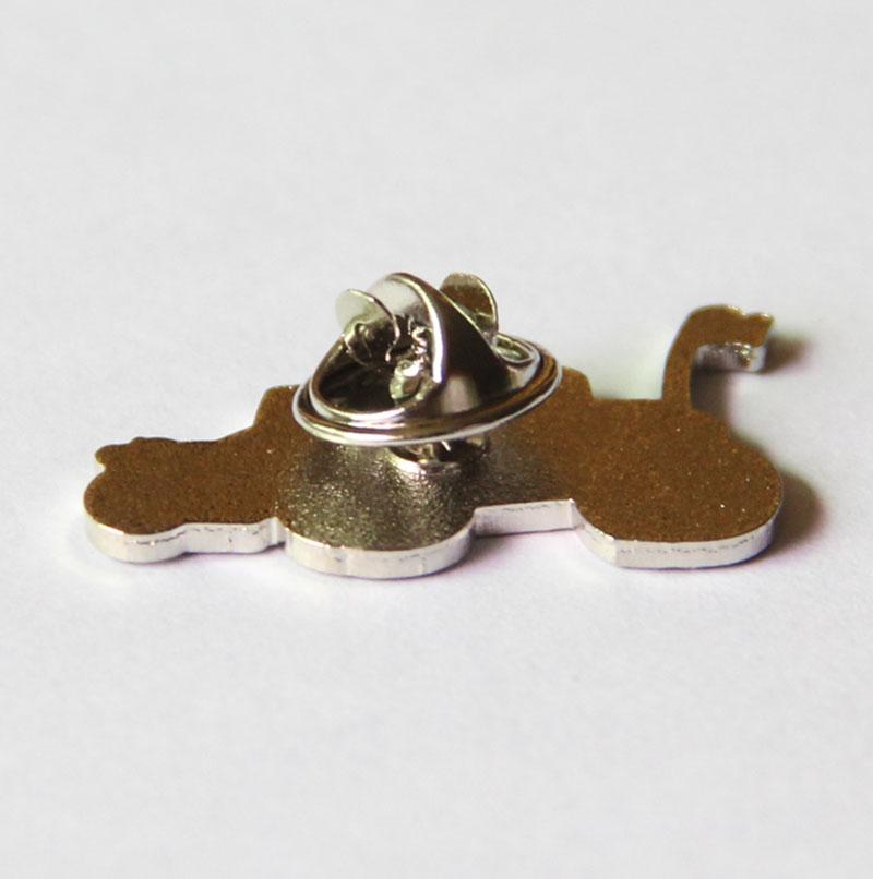 Nickel Car Enamel Pin for Collector