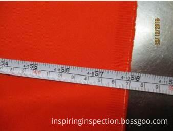 quality control fabric