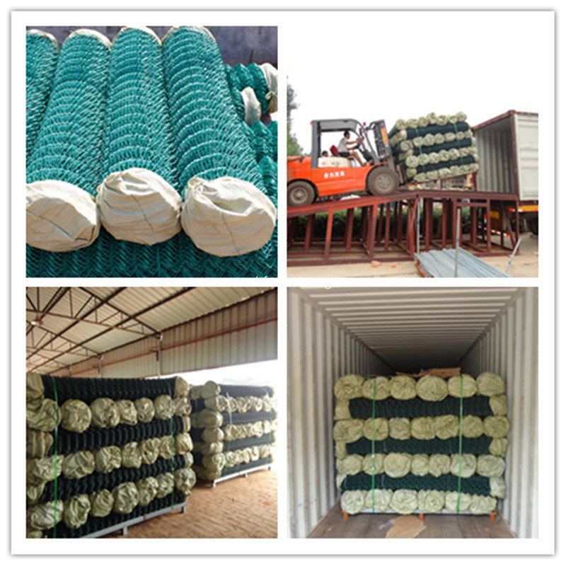 chain link fence packing