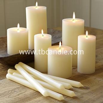 wholesale long burning scented pillar votive candles