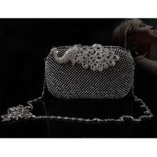 Rhinestone Clutch Purse Luxury Evening Bag Jewelry Hard Case Clutches Handbag Wedding