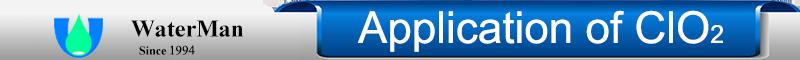 Application of ClO2