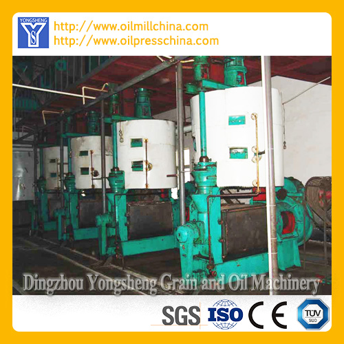 Cooking Oil Mill Machine