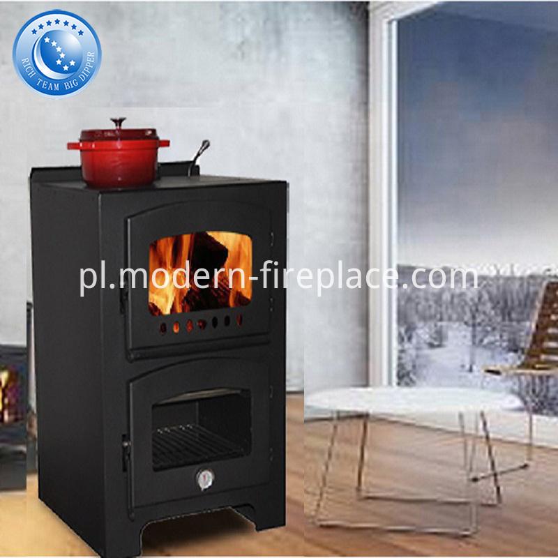 Wood Burner Log Stove Fireplace Cookers